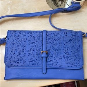 Blue Clutch/Purse